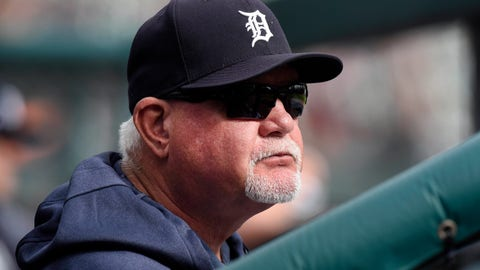 "<p>               File-This Sept. 15, 2019, file photo shows Detroit Tigers manager Ron Gardenhire watching his team play against the Baltimore Orioles in the seventh inning of a baseball game in Detroit.  It could be another long season for the Detroit Tigers, but fans in the Motor City may not have to look far for signs of hope. About 60 miles down Interstate 75. ""We've got some pretty good ones going to Triple-A Toledo,"" Gardenhire said. ""They ought to be pretty happy down there. They're going to see some pretty good pitchers."" (AP Photo/Jose Juarez, File)             </p>"