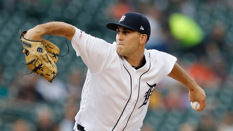 <p>               FILE - In this Aug. 13, 2019, file photo, Detroit Tigers starting pitcher Matthew Boyd throws during the first inning of the team's game against the Seattle Mariners in Detroit. The Tigers agreed to a $5.3 million, one-year deal with Boyd on Friday, Jan. 10. The Tigers avoided arbitration with Boyd and all their eligible players. (AP Photo/Carlos Osorio, File)             </p>