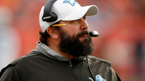 <p>               Detroit Lions head coach Matt Patricia watches during the first half of an NFL football game against the Denver Broncos, Sunday, Dec. 22, 2019, in Denver. (AP Photo/David Zalubowski)             </p>