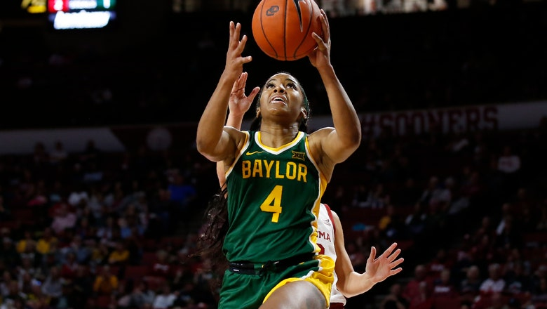 Cooper's career-high 32 lead No. 6 Baylor past Oklahoma