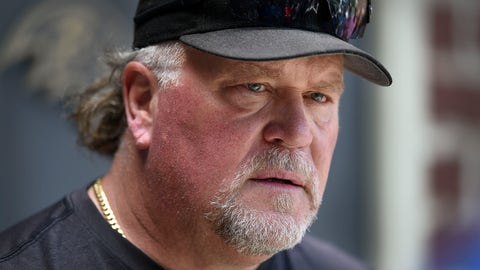<p>               FILE - In this June 12, 2019, file photo, Baltimore Ravens defensive coordinator Don Martindale speaks with reporters at the NFL football team's training facility in Owings Mills, Md. The success of the Ravens has created an interest in coordinators Greg Roman and Don Martindale as potential candidates to fill NFL head coaching vacancies. (AP Photo/Gail Burton, File)             </p>