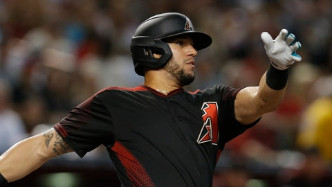 <p>               FILE - In this Aug. 17, 2019 file photo Arizona Diamondbacks' David Peralta hits against the San Francisco Giants in the first inning of a baseball game in Phoenix. The Diamondbacks have finalized a $22 million, three-year contract with Peralta that runs through 2022, Monday, Jan. 13, 2020. (AP Photo/Rick Scuteri, file)             </p>