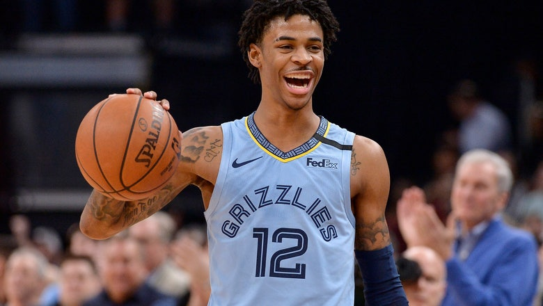 Morant, Brooks lead Grizzlies to 121-110 win over Rockets
