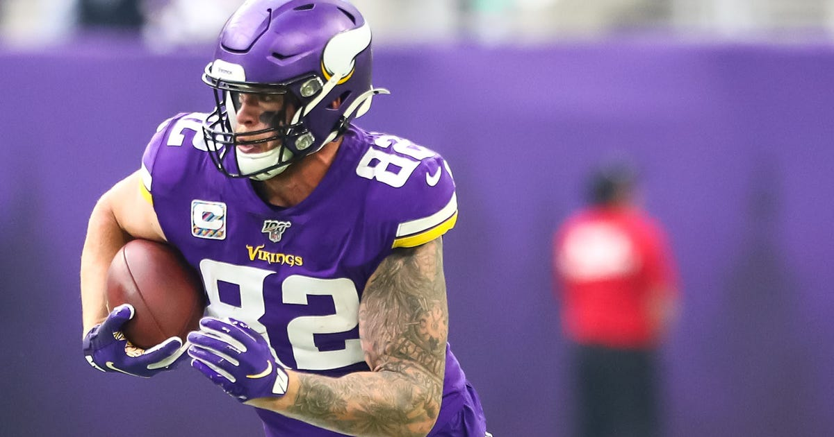Vikings Season Snap Counts: Rudolph just keeps going and going and going | FOX Sports