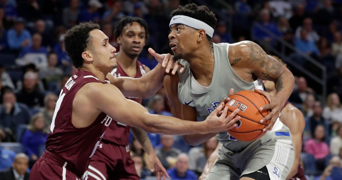 Billikens beat Fordham 55-39, Goodwin notches yet another double-double