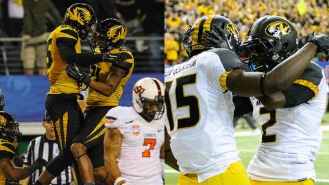 Missouri Tigers, St. Louis BattleHawks, Marcus Lucas, L'Damian Washington
