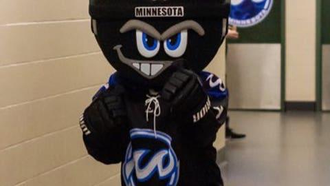 Cappy, Minnesota Whitecaps mascot
