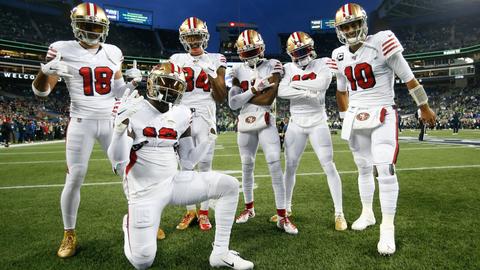 San Francisco 49ers: +400
