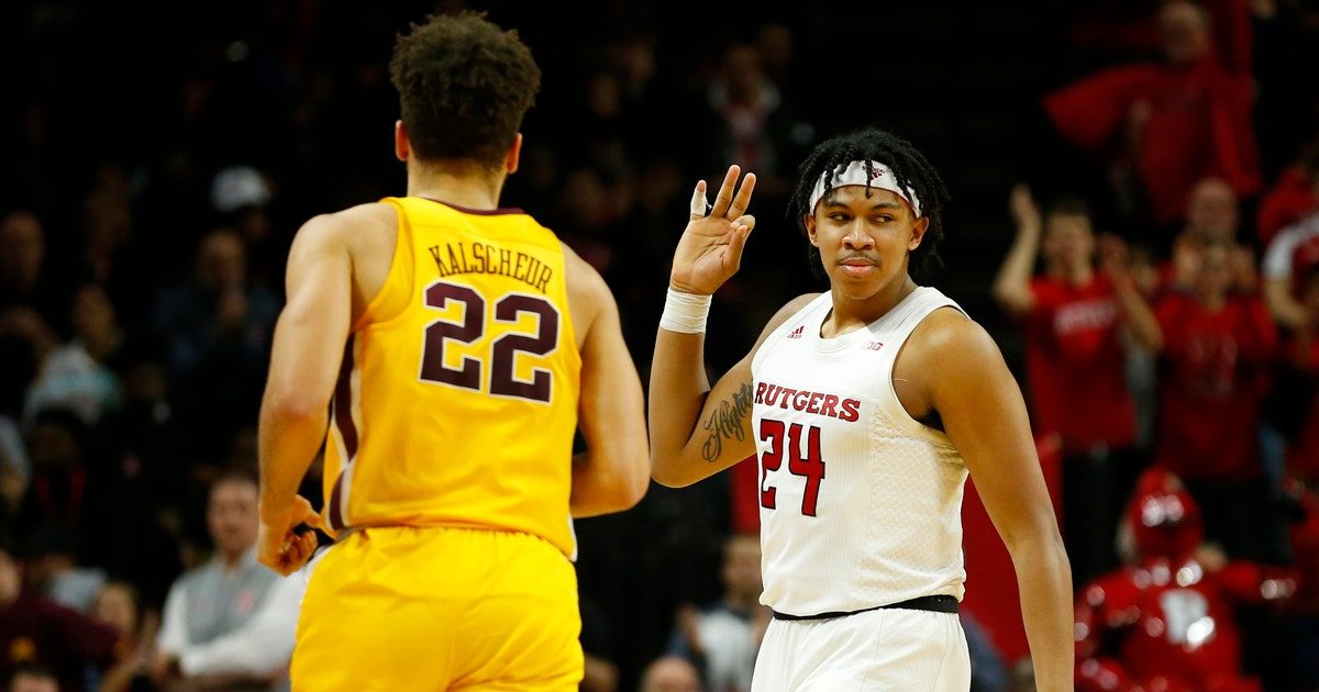 Gophers drop back to .500 in the conference after loss to Rutgers | FOX Sports