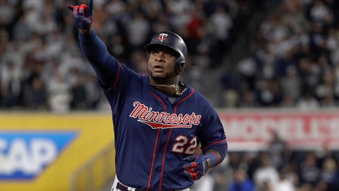 <p>               FILE - In this Oct. 4, 2019, file photo, Minnesota Twins' Miguel Sano rounds the bases after hitting a solo home run against the New York Yankees during the sixth inning of Game 1 of an American League Division Series baseball game in New York. The Twins enter spring training emboldened by their 101-win season in 2019. (AP Photo/Frank Franklin II, File)             </p>