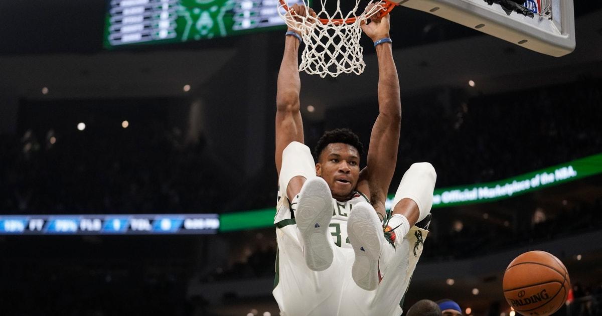 Antetokounmpo's 31 points lead Bucks past 76ers, 119-98
