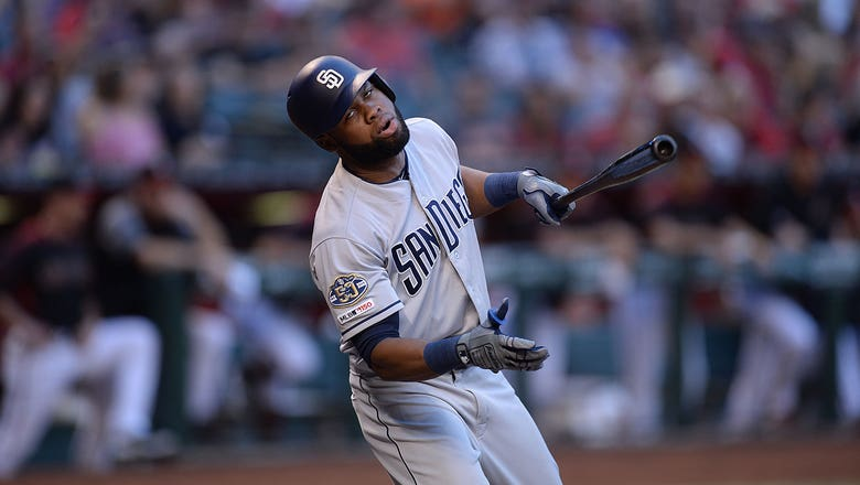 Rays acquire OF Manuel Margot, minor leaguer for P Emilio Pagán in deal with Padres