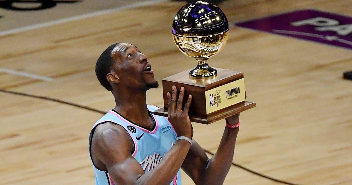 Ascending Heat C/F Bam Adebayo wins NBA All-Star Skills Challenge
