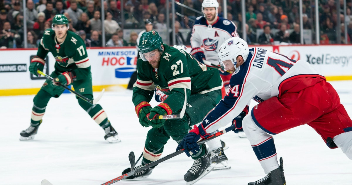 Blue Jackets' late push not enough to overcome Wild in 5-4 loss
