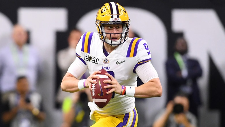Shannon Sharpe not worried about Joe Burrow's small hands — 'He threw 60 touchdowns last year!'