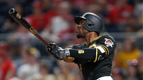 <p>               FILE - In this Aug. 20, 2019, file photo, Pittsburgh Pirates' Starling Marte hits a two-run home run in the eighth against the Washington Nationals in Pittsburgh. The Arizona Diamondbacks hope Starling Marte can add another potent bat to the lineup after he hit at least 20 homers in each of the past two seasons in Pittsburgh. (AP Photo/Keith Srakocic, File)             </p>