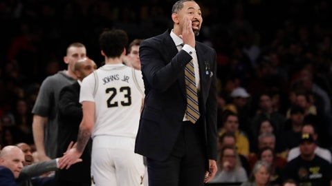 <p>               Michigan head coach Juwan Howard calls out to his team during the first half of an NCAA college basketball game against Rutgers, Saturday, Feb. 1, 2020, in New York. (AP Photo/Frank Franklin II)             </p>
