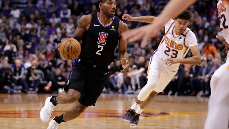 Leonard scores 24 points, Clippers top Suns 102-92