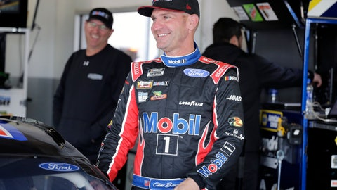 <p>               Clint Bowyer gets ready for a NASCAR auto race practice at Daytona International Speedway, Saturday, Feb. 8, 2020, in Daytona Beach, Fla. (AP Photo/Terry Renna)             </p>