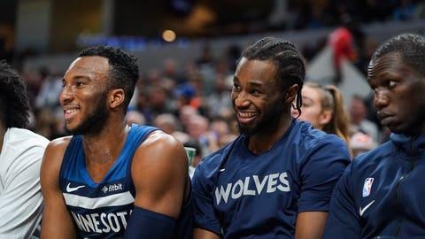 Josh Okogie, Wolves guard