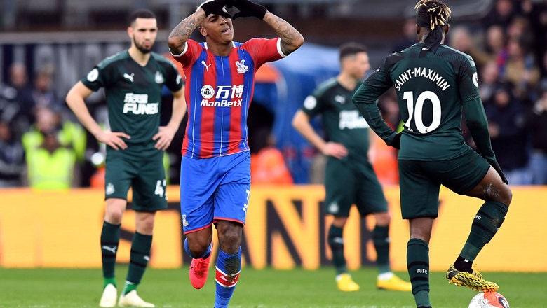 Van Aanholt's free kick earns Palace 1-0 win over Newcastle