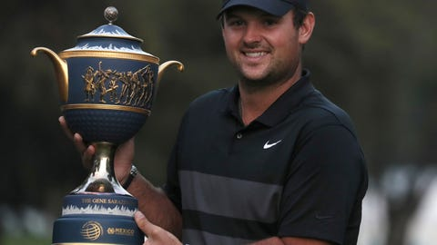 <p>               Patrick Reed of the United States poses with the trophy after winning the WGC-Mexico Championship golf tournament, at the Chapultepec Golf Club in Mexico City, Sunday, Feb. 23, 2020. (AP Photo/Fernando Llano)             </p>