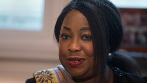 <p>               FILE - In this Monday, Feb. 5, 2018 file photo, FIFA Secretary General Fatma Samoura meets with Spain's Sports Minister Ínigo Mendez de Vigo in Madrid, Spain. FIFA's six months in control of African soccer appeared to end when Fatma Samoura's six-month spell in temporary charge of the continent's governing body was not extended on Sunday Feb. 2, 2020. (AP Photo/Paul White, File)             </p>