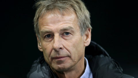 <p>               In this Saturday, Dec. 21, 2019 photo Hertha's head coach Juergen Klinsmann listens to a reporter's question during an interview prior to the German Bundesliga soccer match between Hertha BSC Berlin and Borussia Moenchengladbach in Berlin, Germany. (AP Photo/Michael Sohn)             </p>