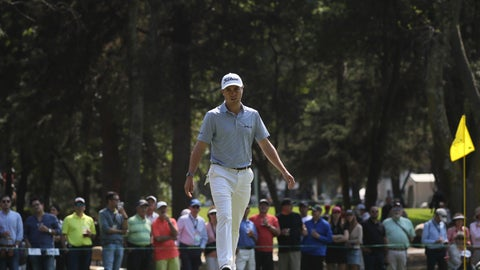 <p>               Justin Thomas of the United States walks towards the third green during the second round of the WGC-Mexico Championship golf tournament, at the Chapultepec Golf Club in Mexico City, Friday, Feb. 21, 2020. (AP Photo/Fernando Llano)             </p>
