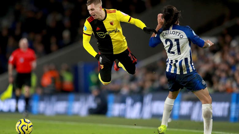 Own-goal denies Watford a win at Brighton in EPL