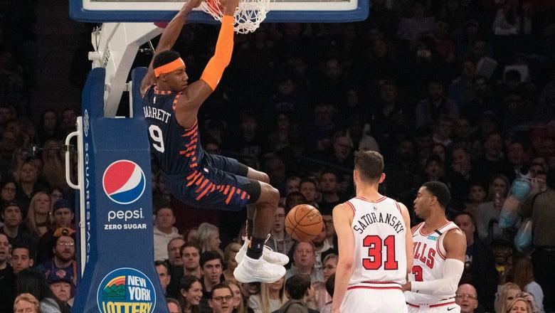 Robinson, Randle lead Knicks past Bulls, 125-115