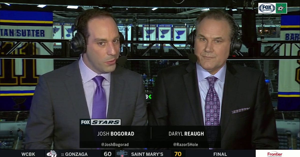 Josh and Razor Break down Dallas' OT Win vs. St. Louis   Stars Live (VIDEO)