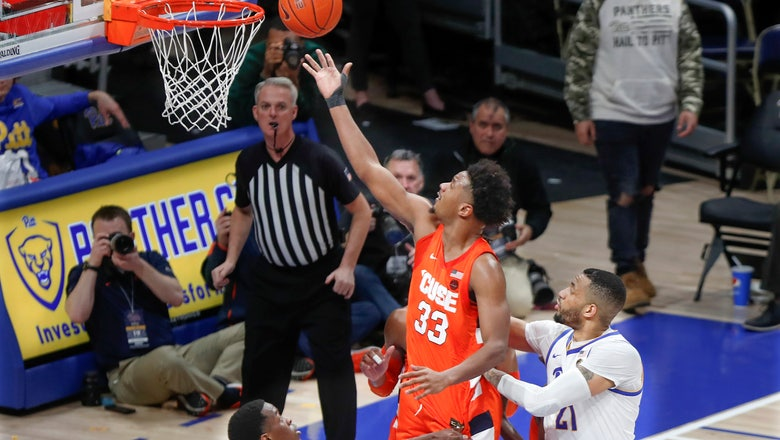 Hughes scores 25, Syracuse blows out Pittsburgh 72-49