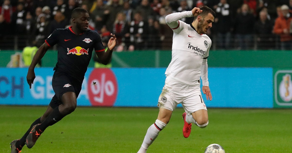 Frankfurt knocks Leipzig out of German Cup | FOX Sports