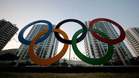 <p>               FILE - In this July 23, 2016, file photo, a representation of the Olympic rings are displayed in the Olympic Village in Rio de Janeiro, Brazil. An eye-opening survey finds that the majority of elite and Olympic athletes struggle to make ends meet. 58 percent of the 491 respondents from across the globe said they did not consider themselves financially stable. (AP Photo/Leo Correa, File)             </p>