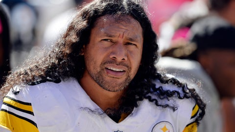 <p>               FILE - In this Oct. 12, 2014, file photo, Pittsburgh Steelers strong safety Troy Polamalu watches from the bench in the second quarter of an NFL football game against the Cleveland Brownsin Cleveland. First-time eligibles Reggie Wayne and Polamalu are among 15 finalists for the Pro Football Hall of Fame's modern-day 2020 class. (AP Photo/David Richard, File)             </p>