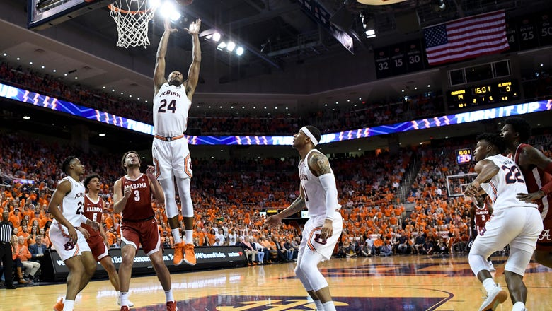 Wiley, No. 11 Auburn survive in OT again, 95-91 over Alabama