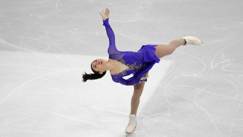 <p>               Japan's Rika Kihira performs during the ladies' single short program competition in the ISU Four Continents Figure Skating Championships in Seoul, South Korea, Thursday, Feb. 6, 2020. (AP Photo/Lee Jin-man)             </p>