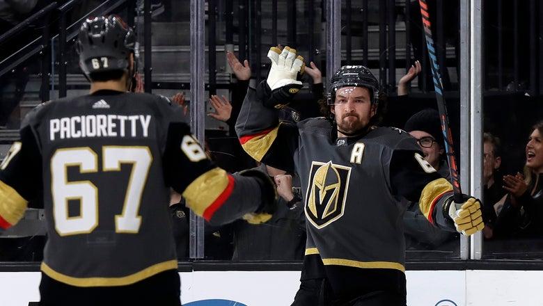 Vegas stops Tampa Bay's 11-game streak with 5-3 win