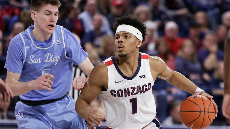 No. 3 Gonzaga routs San Diego to seal 8th straight WCC title