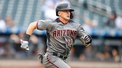 <p>               FILE - In this Sept. 12, 2019 file photo Arizona Diamondbacks' Nick Ahmed runs to first during the sixth inning of a baseball game against the New York Mets in New York. The Diamondbacks have agreed to a $32.5 million, four-year deal with Ahmed. The 29-year-old Ahmed avoids his final year of salary arbitration with the deal, which keeps him with the team through 2023. (AP Photo/Mary Altaffer, file)             </p>
