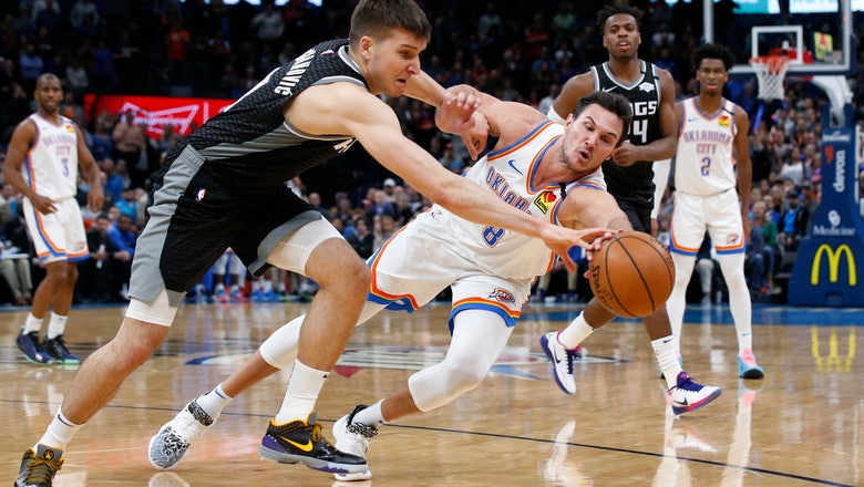 Gallinari scores 24; Thunder rally from 19 down to top Kings