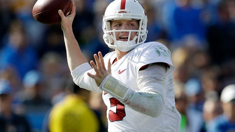 <p>               FILE - In this Saturday, Nov. 24, 2018 file photo, Stanford quarterback K.J. Costello throws against UCLA during the first half of an NCAA college football game in Pasadena, Calif. Former Stanford quarterback K.J. Costello says he plans to finish his college career playing for Mike Leach at Mississippi State. Costello announced his decision via social media on Monday, Feb. 3, 2020 less than a month after Mississippi State hired Leach away from Washington State.(AP Photo/Marcio Jose Sanchez, File)             </p>