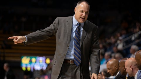 <p>               California coach Mark Fox talks to his bench during the first half of an NCAA college basketball game against Colorado, Thursday, Feb. 27, 2020, in Berkeley, Calif. (AP Photo/D. Ross Cameron)             </p>