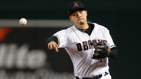 <p>               FILE - In this Tuesday, Aug. 20, 2019 file photo, Arizona Diamondbacks second baseman Wilmer Flores (41) in the first inning during a baseball game against the Colorado Rockies, in Phoenix. Versatile infielder Wilmer Flores and the San Francisco Giants finalized a $6.25 million, two-year contract Wednesday, Feb. 12, 2020 as spring training began, giving the club a proven hitter against left-handed pitching. (AP Photo/Rick Scuteri, File)             </p>