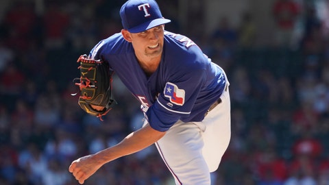<p>               FILE - In this Sept. 26, 2019, file photo, Texas Rangers starting pitcher Mike Minor (23) throws against the Boston Red Sox during a baseball game in Arlington, Texas. All-Star lefty Mike Minor feels like the Texas Rangers will be in pretty good shape if he and hard-throwing right-hander Lance Lynn can again do what they did last season. (AP Photo/Louis DeLuca, File)             </p>