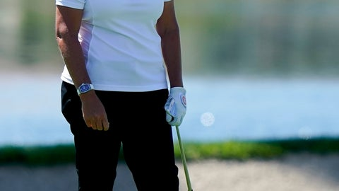 <p>               FILE - In this April 4, 2019, file photo, Cristie Kerr reacts to her approach shot on the 18th hole during the first round of the LPGA Tour ANA Inspiration golf tournament at Mission Hills Country Club in Rancho Mirage, Calif. Kerr will be part of Golf Channel's broadcast team at the Honda Classic this week. (AP Photo/Chris Carlson, File)             </p>