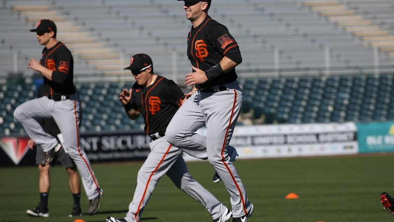 Buster Posey feeling healthy at last, power stroke returning