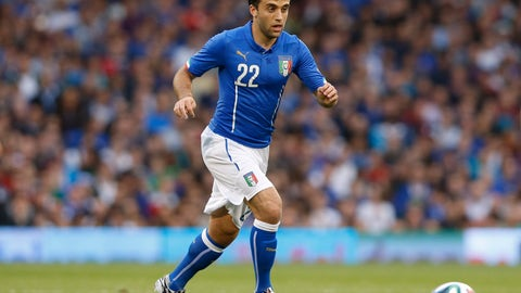 <p>               FILE - In this May 31, 2014, file photo, Italy's Giuseppe Rossi plays against the Republic of Ireland during an international friendly soccer match at Craven Cottage, London. Rossi has signed with Major League Soccer's Real Salt Lake, 21 months after his last competitive match. The 33-year-old from Clifton, N.J., had spent his entire professional career in Europe after moving when he was 12 to join Parma's youth academy, but he has been derailed by five major knee injuries. (AP Photo/Sang Tan, File)             </p>
