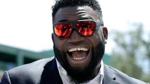 <p>               FILE - In this June 22, 2017, file photo, retired Boston Red Sox designated hitter David Ortiz, smiles outside Fenway Park in Boston. Ortiz is selling a lot of memorabilia from his baseball career at an estate sale scheduled for Saturday, Feb. 29, 2020, at his home in the affluent Boston suburb of Weston. (AP Photo/Charles Krupa, File)             </p>